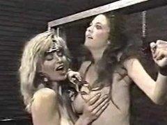Vintage Sharon Kane/Julia Parton in the dungeon (F/f)