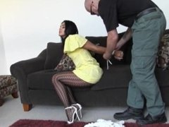 Sahrye Bound and Fucked - very sexy