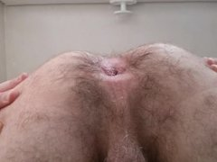 Straight guy shows tight ass shortly after ass fuck #2 - cul serre hetero