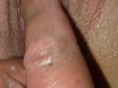 My wet pussy being finger fucked