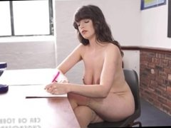 Brunette Teacher Jerk Off Instructions
