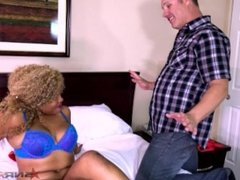 Sexy white guy uses my toys on me while he fucks me / Nina Rivera
