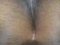 ebony bbw big booty amateur spreading ass