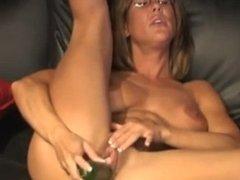 BRANDI When Cucumber meets Juicy Pussy Lips