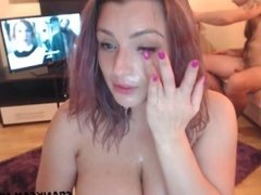 sexy mother with big breast is cheating with the neighbor loves to take the