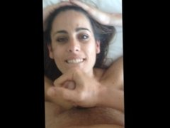 Irish Wife Crawling for Blow Job and Facial - REAL HOMEMADE SEX TAPE!