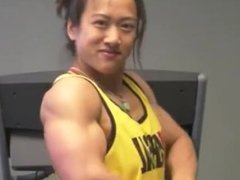 Asian Muscle chick