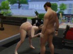 Sims 4 Asian Milf Blowjob