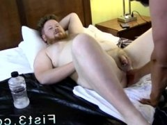 Two boy fist porn and erotic gay sex with toys Sky Works Brock's Hole