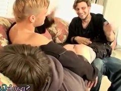 Hunks in speedos in public toilet porn and romantic gay kissing and