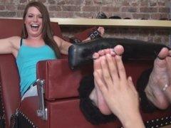Tickle Abuse- Abby