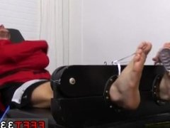 Gay feet sex porn movie and boy legs galleries Kenny Tickled In A