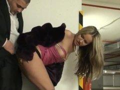 Juliete in fur fucked in parking