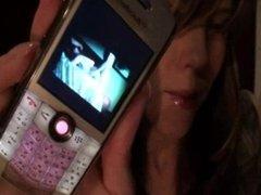 Girl cuckolds POV with phone evidence