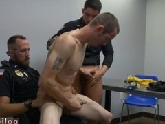 Police male homo hot sexy cop in leather porn hot naked male