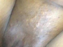 My girlfriend cream all over my dick