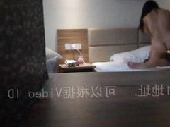 Hidden cam in hotel captures couple fucking