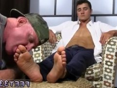 Male tickled feet emo boy toe