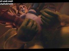World of Whorecraft Porn Game - Warcraft Parody