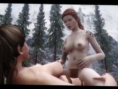 Skyrim lesbian sex