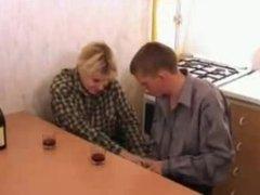 Russian mom sxe boy