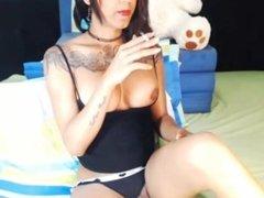 Shemale Smoking - Meghan Hernandez