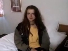 Young amateur teen from the street