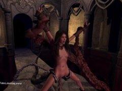 Hermione's untold adventures Tempel of Min part 1