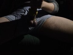 Homemade Fleshlight & Bound Post Orgasm Torture Pt. 1