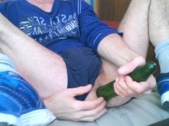 Anal cucumber play #3