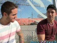 Gay boys sex outdoors and cock masturbation