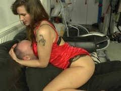 PREVIEW: Breast Smothered Up On The Sofa