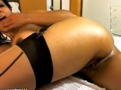 Ebony webcam solo