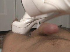 milf nurse boots job
