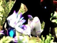 League of legends/Lol - Kindred Compilation - 3D