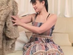 Japanese cougar has a nice body for sex and creampie