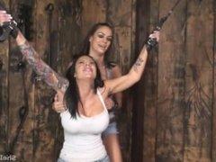 Girl bondage Tickling