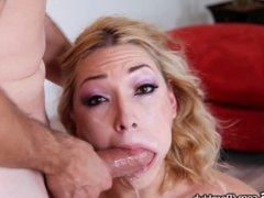 Lily Labeau is Back and Ready for Sloppy Throating