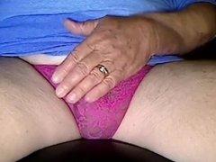 Sexy Pink Lace Thong