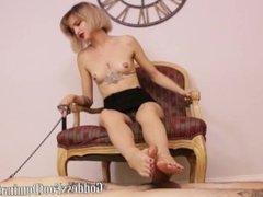 goddess foot domination