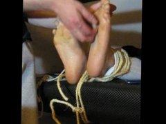 My feet tickled by a friend )