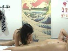 Hiden camera is massage parlour - DIck massage