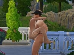 The Sims 4 - Mansion of lust (1)