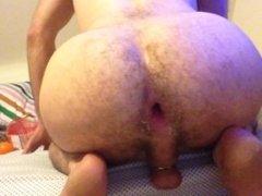 gaping ass swallowing big oranges