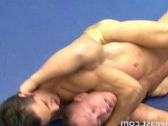 Wrestling match gay 3