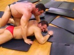 Wrestling match hot gay 4