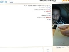 Omegle girl watching me cum 11