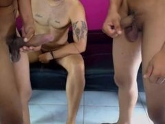 trio colombiano por webcam