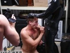 straight guy ass fucked by gay caught jerking