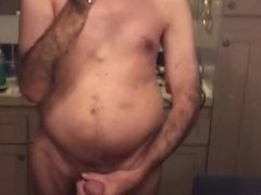 Showing off my sexy body and cock
